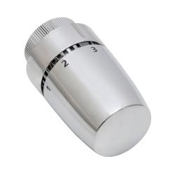 Tête thermodynamique design chrome élément cire