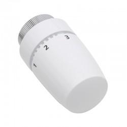 Set - Robinet thermostatique Equerre double droit blanc
